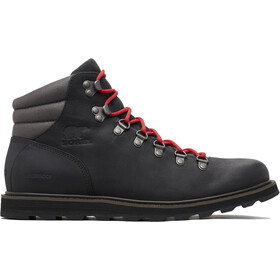 Sorel M's Madson Hiker Waterproof Shoes Black